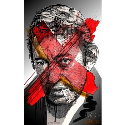 Serge Gainsbourg - Portrait infographique