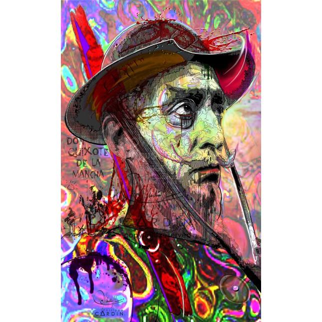 Don Quichotte - Portrait infographique
