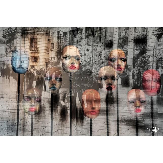 Les baisers volés - tirage d'art