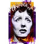 Edith Piaf - Portrait infographique