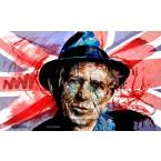 Keith Richards - Portrait infographique