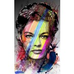 Romy Schneider - Portrait infographique