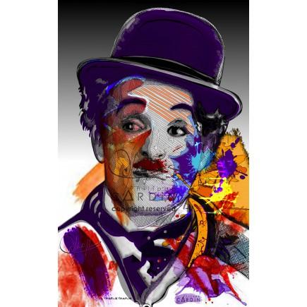 Charlie Chaplin - Portrait infographique