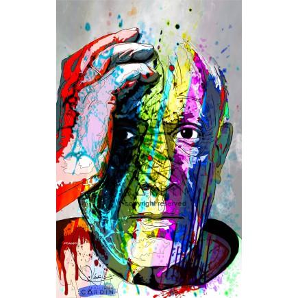 Pablo Picasso - Portrait infographique